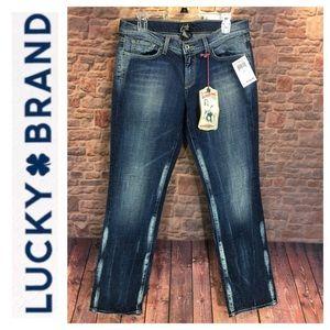 ☮️NWT Lucky Brand Zoe Skinny, Low Rise Slim Fit